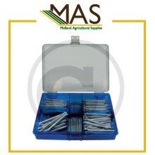 Split pin assortment Galvanised-  200 pcs., image