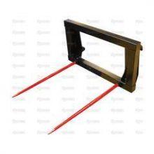 Bale Frame - 2 x M28 x 1100mm Tines (SHW Bran, image