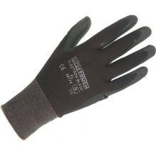 PU Coated Nylon Gloves - Medium Size, image