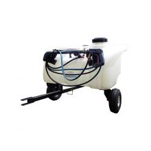 Enduraspray Zero-Turn Trailer Sprayer 60Litre - 8.3l/min Pump, Pressure Regulator & Gauge, 6m Hose & Hand Lance., image