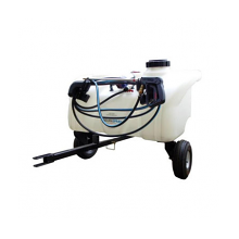 Enduraspray Zero-Turn Trailer Sprayer 90Litre - 8.3l/min Pump, Pressure Regulator & Gauge, 6m Hose & Hand Lance., image