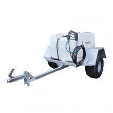 200 Litre Trailer Sprayer - 11.4L/min Pump, Pressure Regulator & Gauge, 6m Hose & Hand Lance, image