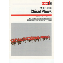 Case/IH 5700 Chisel Plow Sales Brochure, image