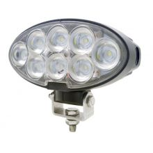 60 watt slim oval LED cab work light JD R, image