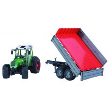 Fendt 209 S with tipping trailer  1:16, image