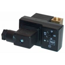 """TIMER CONTROLLED IN-LINE DRAIN FOR AIR FILTERS 1/8"""" 24VDC, image"""