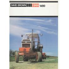 Case David Brown 1490 Tractor Sales Brochure, image
