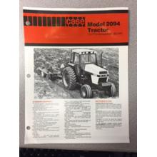 Case 2094 Tractor Sales Brochure, image
