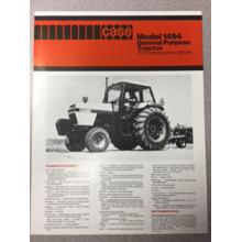 Case 1494 Tractor Sales Brochure, image