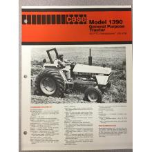 Case 1390 Tractor Sales Brochure, image