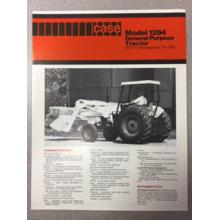 Case 1294 Tractor Sales Brochure, image