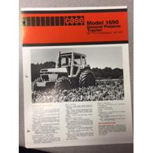 Case 1690 Tractor Sales Brochure, image