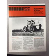 Case 4690 Tractor Sales Brochure, image