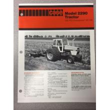 Case 2290 Tractor Sales Brochure, image
