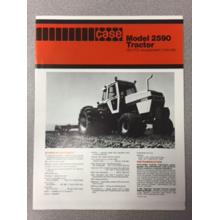 Case 2590 Tractor Sales Brochure, image