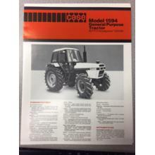 Case 1594 Tractor Sales Brochure, image