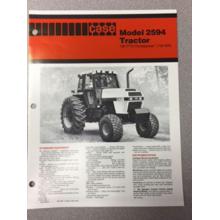 Case 2594 Tractor Sales Brochure, image