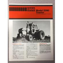 Case 2390 Tractor Sales Brochure, image