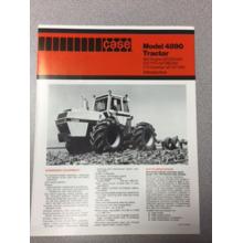 Case 4890 Tractor Sales Brochure, image