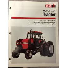 Case 2394 Tractor Sales Brochure, image