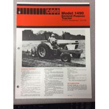 Case 1490 Tractor Sales Brochure, image