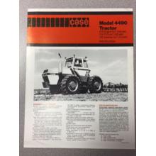 Case 4490 Tractor Sales Brochure, image
