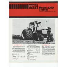 Case 2090 Tractor Sales Brochure, image