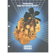 Case 4-390 Diesel Engine Sales Brochure, image