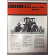 Case 2294 Tractor Sales Brochure, image