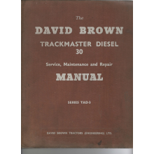 David Brown Trackmaster 30 Tractor Service Ma, image