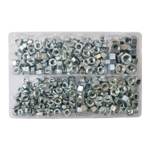 Assorted UNC Steel Nuts (525), image