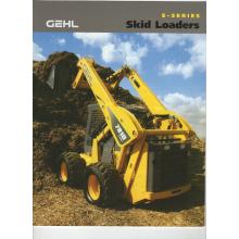 Gehl E Series Skid Loaders Sales Brochure, image