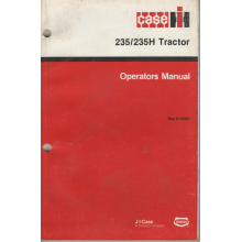 Case/IH 235 235H Compact Tractor Operators Ma, image