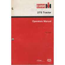 Case/IH 275 Compact Tractor Operators Manual, image