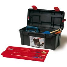 Tool Box c/w Tote Tray 480 x 258 x 255mm, image