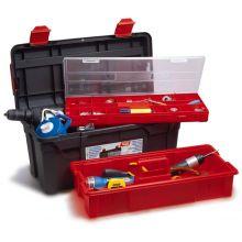 Tool Box c/w Tote Tray & Box 480 x 258 x 255mm, image