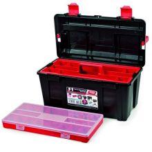 Tool Box c/w Tote Tray & Box 580 x 285 x 290mm, image
