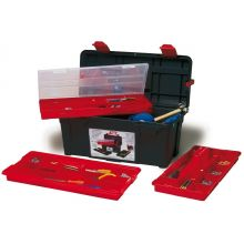 Tool Box c/w 2 x Tote Trays &Box 580 x 285 x 290mm, image