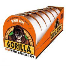 Display Box Gorilla Tape White27 Metre 6 Unit, image