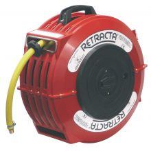 HOSE REEL, SPRING REWIND FOR AIR, HOT/COLD&FO, image