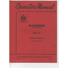 McCormick International S6-1 Drill Operators , image