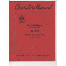 McCormick International B23 Mower Operators M, image