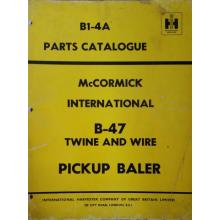 McCormick International B47 Baler Parts Catal, image