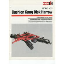 Case/IH 475 Cushion Gang Disk Harrow Sales Br, image