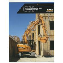 Case CX Series Excavator Sales Brochure, image