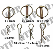 Linch Pin & R Clip Pack (50), image