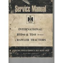 International BTD-6 TD-8 Crawler Tractor Serv, image