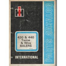 International 430 & 440 Baler Parts Catalogue, image