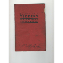 Blanch Lely Tedder Parts & Operators Manual, image