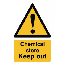 Chemical Store Sign, image